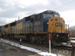 CSX 8755   Ex- CR 5654   SD60I       Mar 17, 2007